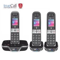 BT 8600 Advanced Nuisance Call Blocker Trio With Answer Machine